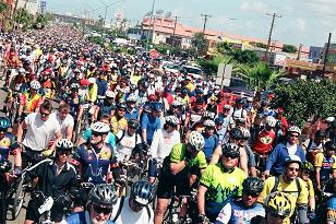 Rosarito Ensenada Bike Ride Starting Line
